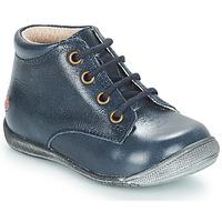 Topánky Dievčatá Polokozačky GBB NAOMI Modrá