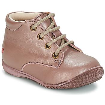 Topánky Dievčatá Polokozačky GBB NAOMI Vte   Ružová f27f95b4c3f