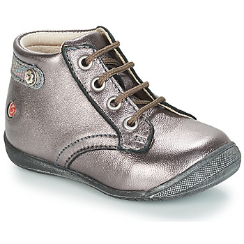 Topánky Dievčatá Polokozačky GBB NICOLE Fialová  / Metalická