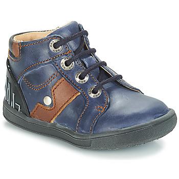 Topánky Chlapci Polokozačky GBB REGIS Modrá