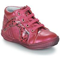 Topánky Dievčatá Polokozačky GBB ROSETTA Ružová