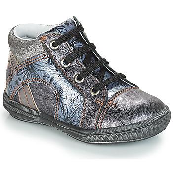 Topánky Dievčatá Členkové tenisky GBB ROSETTA Strieborná / Modrá