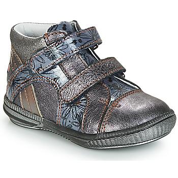 Topánky Dievčatá Polokozačky GBB ROXANE Girs / Modrá