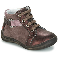 Topánky Dievčatá Polokozačky GBB RICHARDINE Vtc / Ružová-bordová