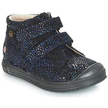 Topánky Dievčatá Polokozačky GBB RACHEL Modrá / Námornícka modrá
