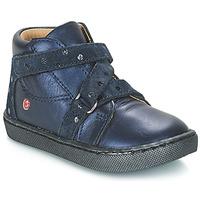 Topánky Dievčatá Polokozačky GBB RAYMONDE Modrá
