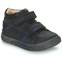 Topánky Chlapci Polokozačky GBB ROBERT Vts / Čierna