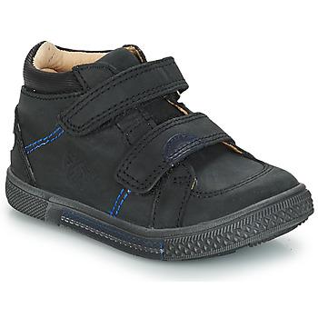 Topánky Chlapci Členkové tenisky GBB ROBERT Čierna