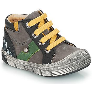 Topánky Chlapci Čižmy do mesta GBB REINOLD Šedo-čierna