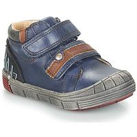 Topánky Chlapci Polokozačky GBB REMI Modrá