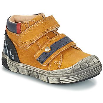 Topánky Chlapci Polokozačky GBB REMI Žltá
