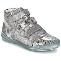 Topánky Dievčatá Polokozačky GBB RAFAELE Strieborná
