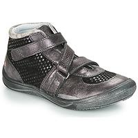 Topánky Dievčatá Členkové tenisky GBB RIQUETTE Čierna / Strieborná