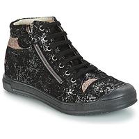 Topánky Dievčatá Tašky cez rameno GBB DESTINY Čierna / Strieborná