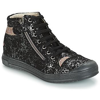 3330a01673bb Topánky Dievčatá Polokozačky GBB DESTINY Vts   Čierno-zlatá