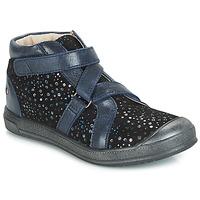Topánky Dievčatá Členkové tenisky GBB NADEGE Modrá