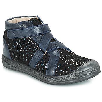 Topánky Dievčatá Polokozačky GBB NADEGE Vte   Čierna 4bda460ae4