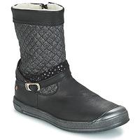 Topánky Dievčatá Čižmy do mesta GBB ROLANDE Vts / Čierna