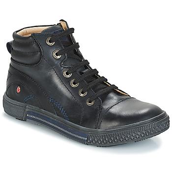 Topánky Chlapci Členkové tenisky GBB RALPH Čierna