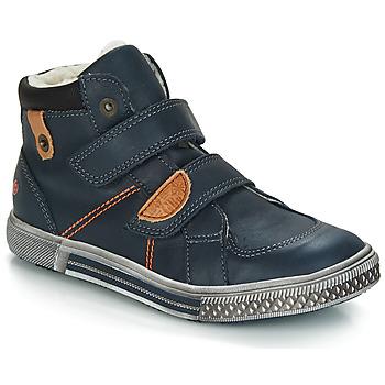 643163e45f1e Topánky Chlapci Polokozačky GBB RANDALL Vtc   Modrá