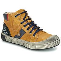 Topánky Chlapci Polokozačky GBB RENZO Vte / Okrová-svetlá hnedá