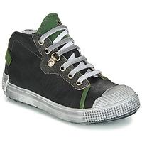 Topánky Chlapci Polokozačky GBB RONALD Vte / Čierno-zelená