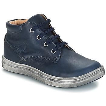 Topánky Chlapci Polokozačky GBB NINO Modrá