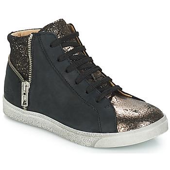 Topánky Dievčatá Členkové tenisky GBB CARLA Čierna / Bronzová
