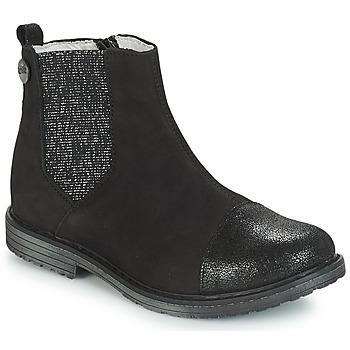6eca061d1b2f Topánky Dievčatá Čižmy do mesta GBB LEONTINA Čierna