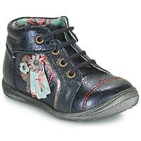 Topánky Dievčatá Polokozačky Catimini RAINETTE Námornícka modrá