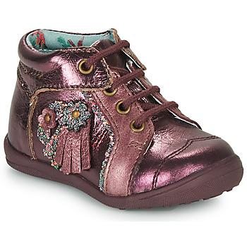 Topánky Dievčatá Polokozačky Catimini RAINETTE Bordová