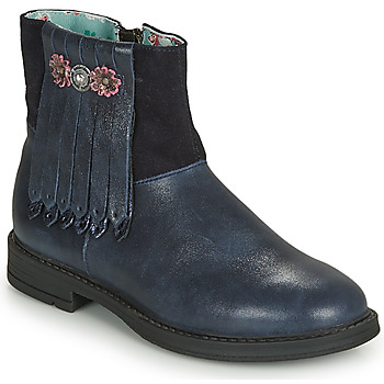 Topánky Dievčatá Polokozačky Catimini RENOUEE Námornícka modrá