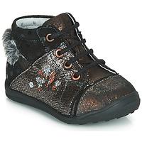 Topánky Dievčatá Polokozačky Catimini ROULETTE Čierna