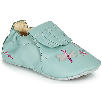 Topánky Dievčatá Papuče Catimini RHIZINE Modrá