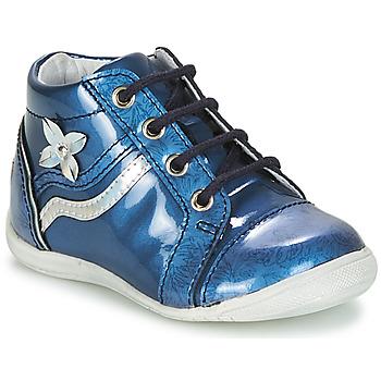 Topánky Dievčatá Polokozačky GBB SHINA Modrá