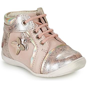 Topánky Dievčatá Polokozačky GBB SONIA Ružová