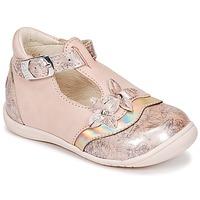 Topánky Dievčatá Balerínky a babies GBB SELVINA Ružová