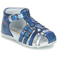 Topánky Dievčatá Sandále GBB SAMIRA Modrá