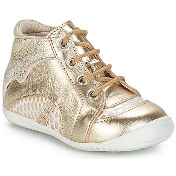 Topánky Dievčatá Polokozačky GBB SOPHIE Zlatá