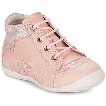Topánky Dievčatá Polokozačky GBB SOPHIE Ružová