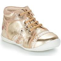 Topánky Dievčatá Polokozačky GBB STELLA Zlatá