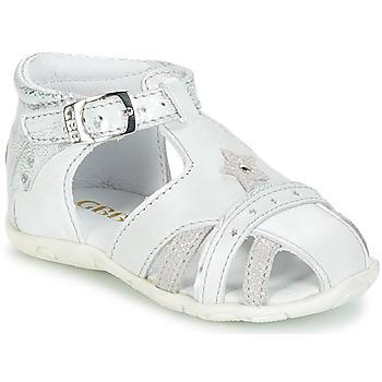 Topánky Dievčatá Sandále GBB SUZANNE Biela