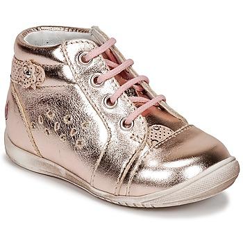 Topánky Dievčatá Členkové tenisky GBB SIDONIE Ružová / Zlatá