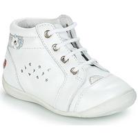 Topánky Dievčatá Polokozačky GBB SIDONIE Biela