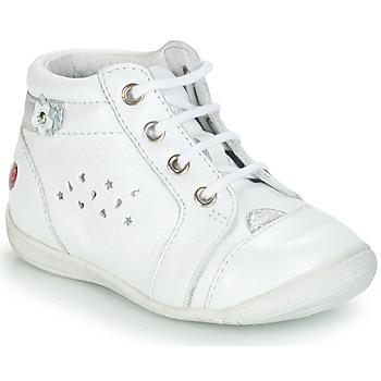 Topánky Dievčatá Polokozačky GBB SIDONIE Vte   Biela 6e85de7409d