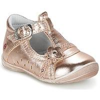 Topánky Dievčatá Balerínky a babies GBB SIXTINE Ružová / Zlatá