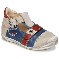 Topánky Chlapci Sandále GBB STANISLAS Námornícka modrá / Béžová / Červená