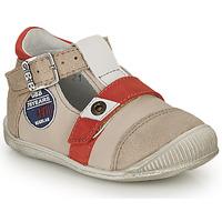 Topánky Chlapci Sandále GBB STANISLAS Vtc / Béžovo-červená