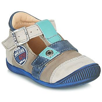Topánky Chlapci Sandále GBB STANISLAS Modrá