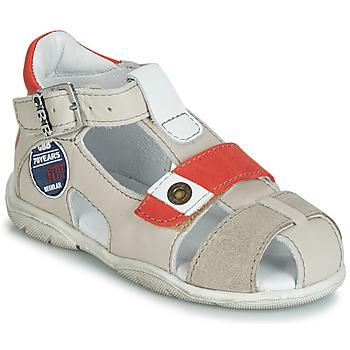 Topánky Chlapci Sandále GBB SULLIVAN Béžová / Červená